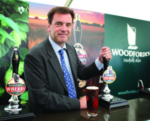 Rupert Farquharson MD of Woodforde's Brewery (2)
