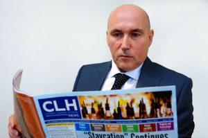 Peter Adams, Editor of CLH News
