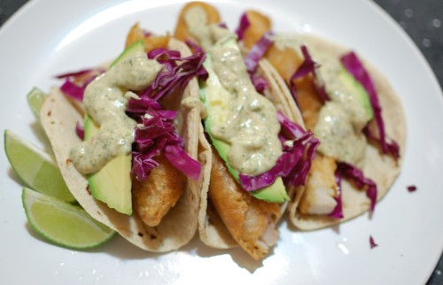 Beer-Battered-Fish-Tacos-with-Spicy-Cilantro-Cream-Sauce-16-500×322
