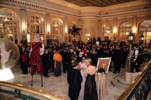 , A Fundraising Windfall at Springboard's Masked Ball