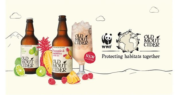 , Old Mout Cider And WWF Partner To Protect Habitats Around The World –