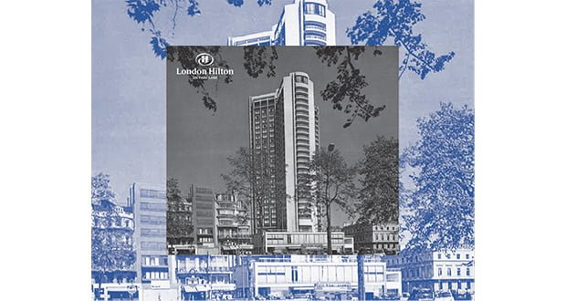 , 100 Years Of Hilton Exhibition Opens At The London Hilton On Park Lane
