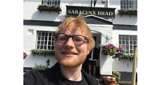, Ed Sheeran Hits The Brakspear Henley Ale Trail