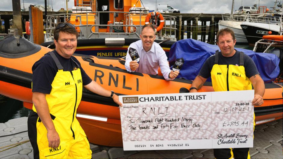 Cousin Jack Raises over £14,000 for RNLI
