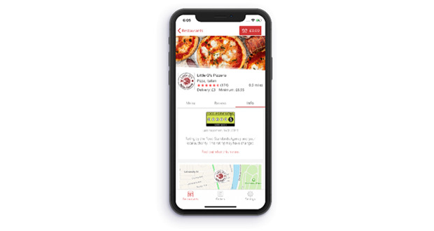 , Just Eat Has Become The First To Publish Hygiene Ratings For Every Restaurant On Its Platform