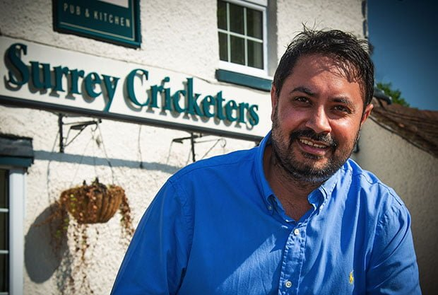 , Jamie Oliver Restaurant's Operations Chef takes on Surrey Pub