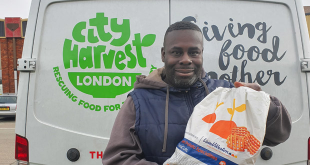 , Lamb Weston Help Food Redistribution Charity City Harvest Feed the Hungry