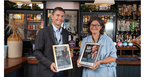 , Don't Flush Your Life Away Campaign Launches In Pubs Across Cornwall