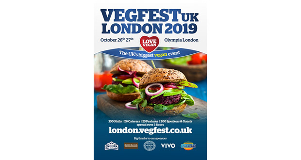 , Nearly Time For VegfestUK London – The Biggest Vegan Festival In The UK!