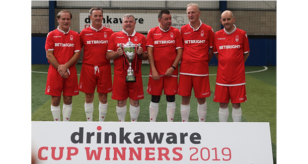 , Second Drinkaware Cup Attracts More Walking Football Teams