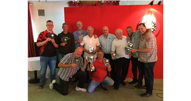 , Stoke-On-Trent Pub Darts Team Wins Annual Competition