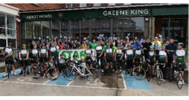 , Greene King Team Members Take To The Road To Raise Money For Macmillan