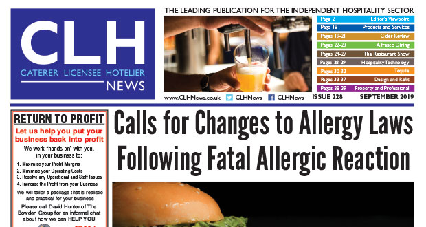 , CLH News Issue #228 – Sept 2019