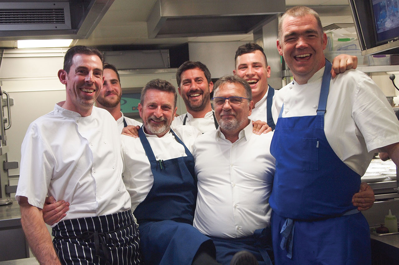 , Michel Roux OBE and Alain Roux Host Charity Dinner in Aid of Adopt a School