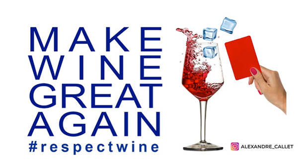 #Respectwine: A Worldwide Campaign To Prohibit The Use Of Ice In Wine