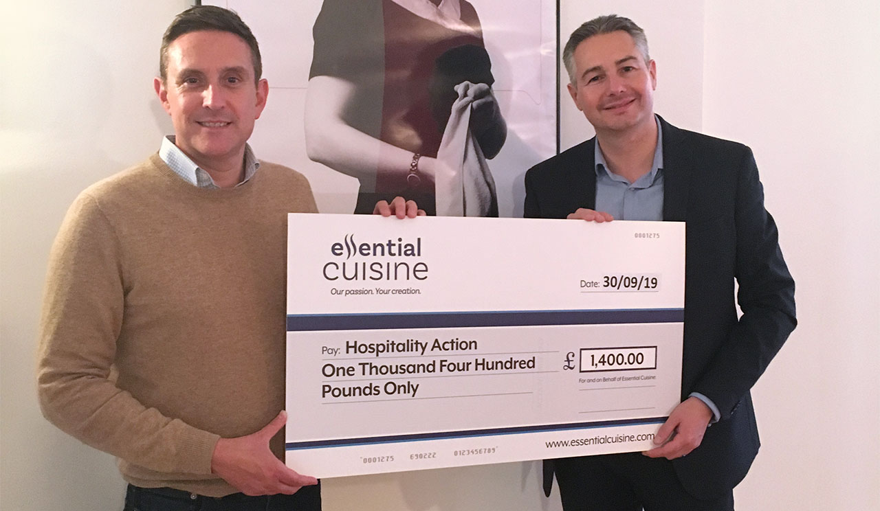 Essential Cuisine Makes Hospitality Action Donation to Mark Mental Health Awareness Week Activity
