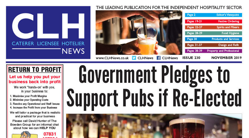 , CLH News Issue #230 November 2019