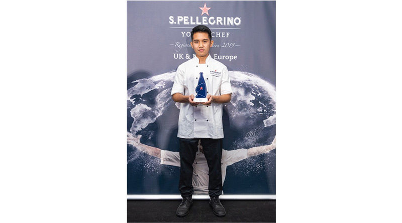 , Jerome Calayag Announced As The Winner Of S.Pellegrino Young Chef Regional Semi-Final, And Will Be Representing Uk & North Europe At The Grand Finale In Milan, 2020