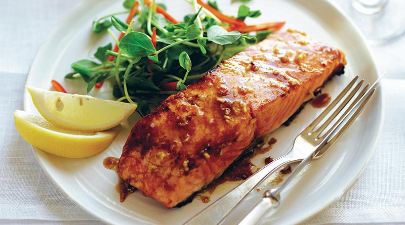 , Littlepod Vanilla & Honey Glazed Salmon