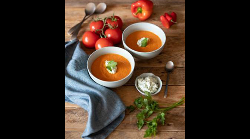 , Isle of Wight Balsamic Roast Tomato Soup