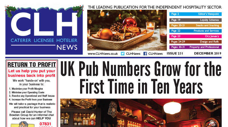 Issue 231 of CLH News, CLH News Issue #231 December 2019