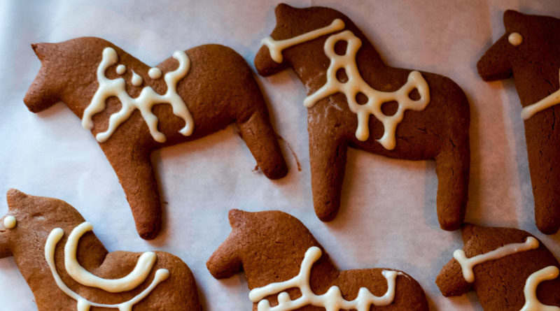 Gingerbread Horses Recipe, Littlepod Gingerbread Horses