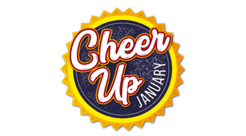 "The Great Cheer Up, The Great Cheer Up January ""Giveaway"