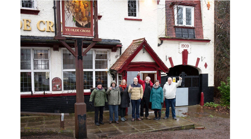 National CAMRA Award Recognises Campaigners, National CAMRA Award Recognises Campaigners For Saving Their Local Pub