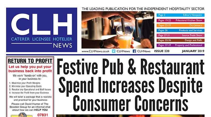 , CLH News Issue #232 January 2020