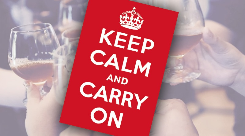 , Editor's Viewpoint – Keeping Calm and Carrying On!