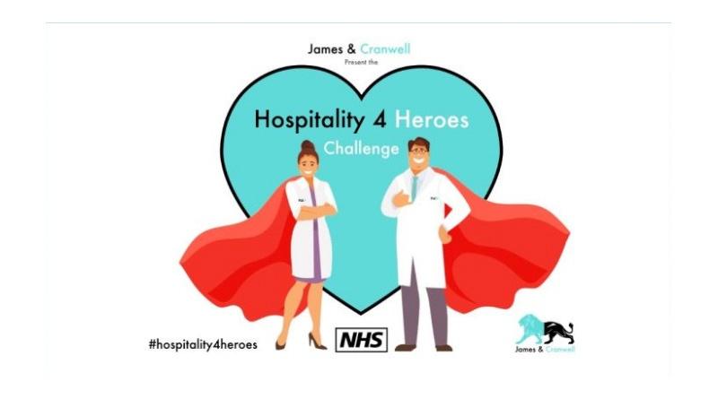 Hospitality 4 Heroes Edges Towards £10000 NHS Fundraiser Target, Hospitality 4 Heroes Edges Towards £10,000 NHS Fundraiser Target