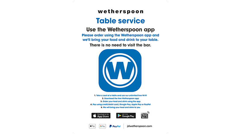 JD Wetherspoon To Invest Initial £11m To Ensure Staff And Customer Safety