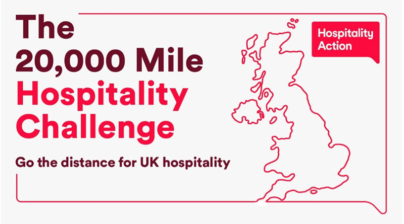 The 20000 Mile Hospitality Challenge, The 20,000 Mile Hospitality Challenge