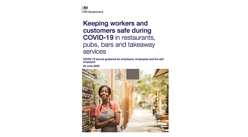 Government Publishes Guidance For Hospitality Reopening, Government Publishes Guidance For Hospitality Reopening