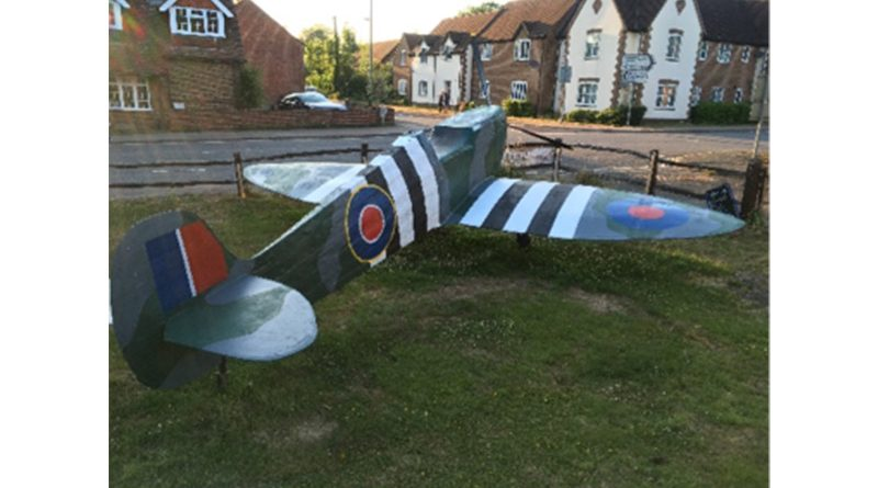 Publican Builds Life Sized Replica Of Spitfire During Lockdown, Publican Builds Life Sized Replica Of Spitfire During Lockdown