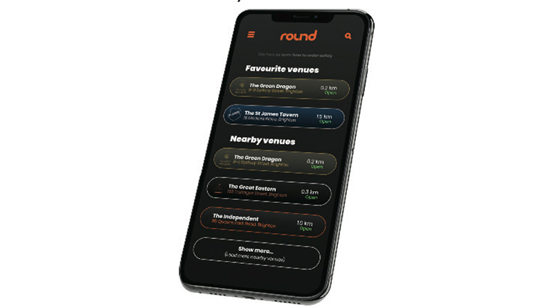 ROUND - The UK's Favourite Order & Pay App, ROUND – The UK's Favourite Order & Pay App