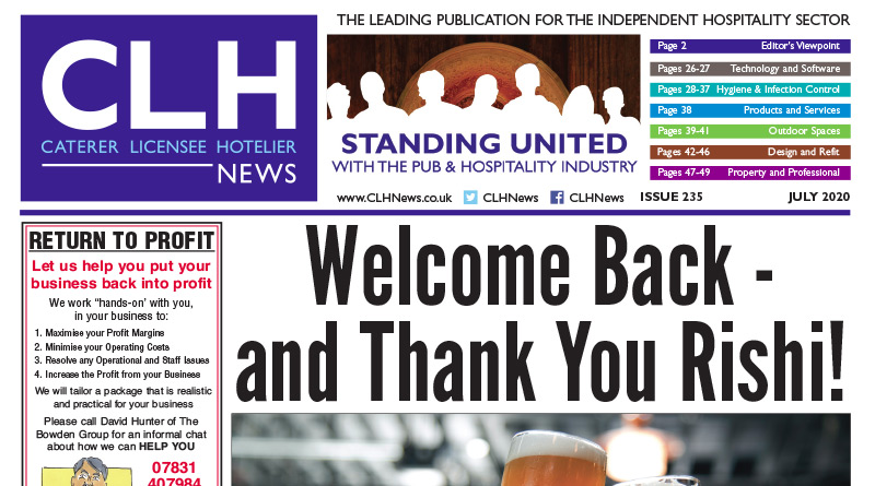 , CLH News Issue #235 July 2020