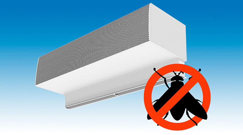 , New Insect Prevention Air Curtain