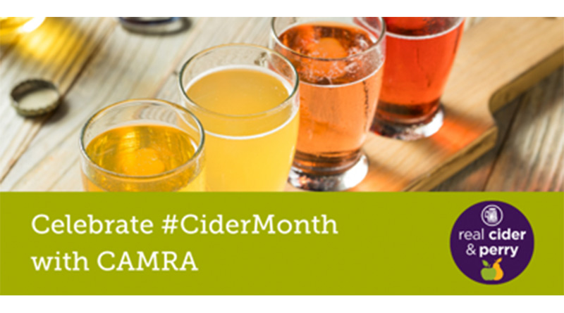 CAMRA members make the most of Cider Month