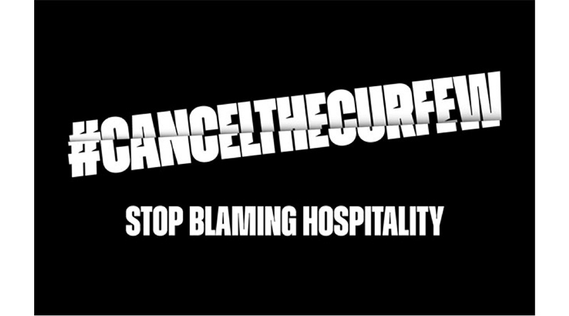 """""""Stop Blaming Hospitality""""- Campaign To Cancel Curfew Launched, """"Stop Blaming Hospitality""""- Campaign To Cancel Curfew Launched"""