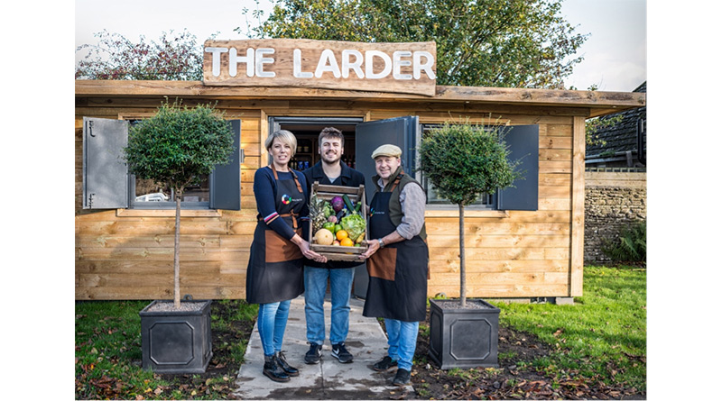 Pub Converts Shipping Container Into Shop For Longburton Residents, Pub Converts Shipping Container Into Shop For Longburton Residents