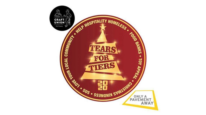 Craft Union Pub Company Launches Tears For Tiers Campaign In Partnership With Only A Pavement Away, Craft Union Pub Company Launches Tears For Tiers Campaign In Partnership With Only A Pavement Away