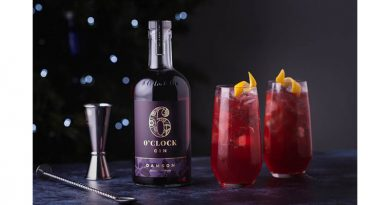Damson and cranberry collins – by 6 O'clock Gin