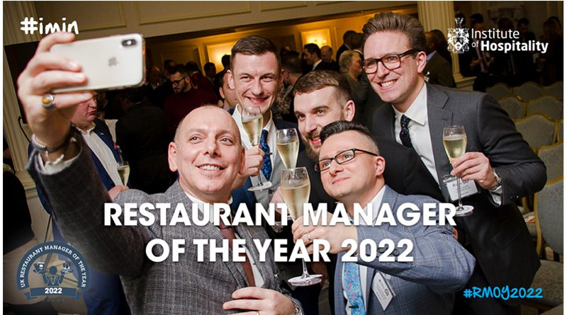 UK Restaurant Manager Of The Year 2022 Competition Now Open