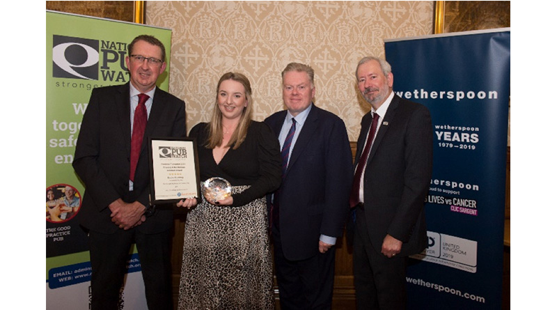 National Pubwatch Recognises Excellence and Commitment at House of Lords Awards Dinner